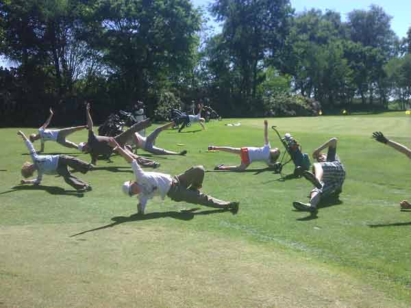 Jugendtraining Golf-Gymnastik